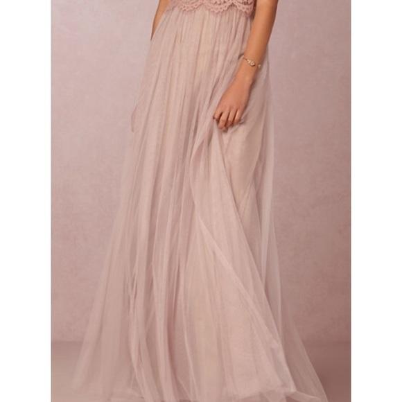 ae0ed70c5 Jenny Yoo Skirts | Bhldn Louise Tulle Skirt Rose Quartz | Poshmark
